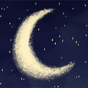 TICKLED MOON